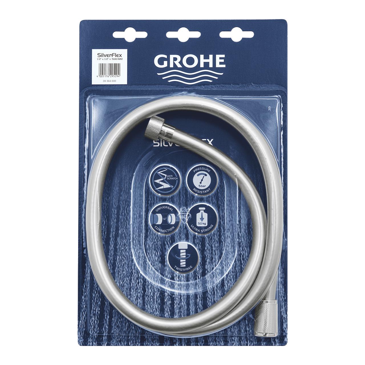 купить GROHE Silverflex 28364000  (1500мм)