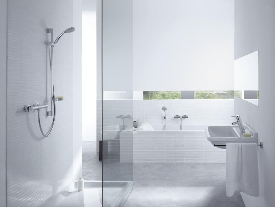 hansgrohe ecostat 1001 el 27085000. Black Bedroom Furniture Sets. Home Design Ideas