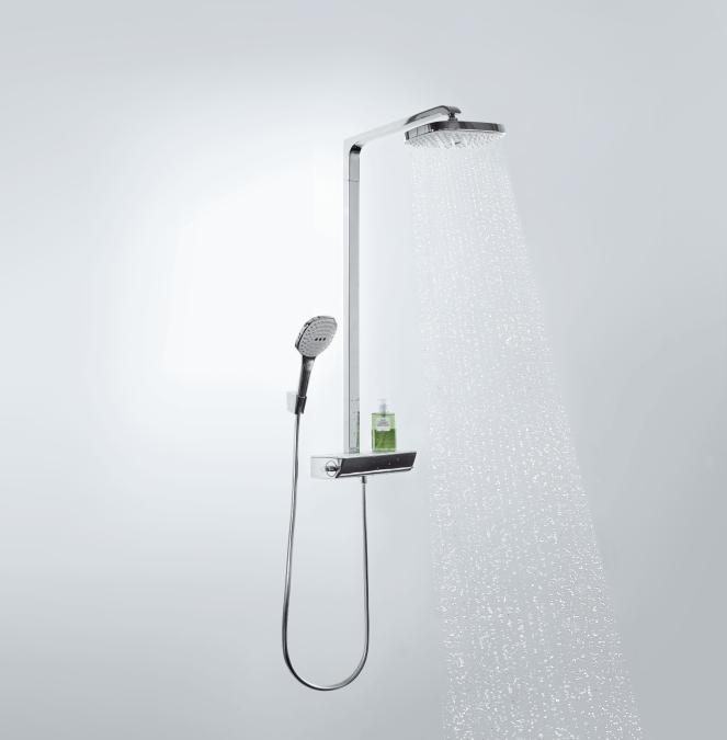 hansgrohe raindance select showerpipe e300 2jet. Black Bedroom Furniture Sets. Home Design Ideas