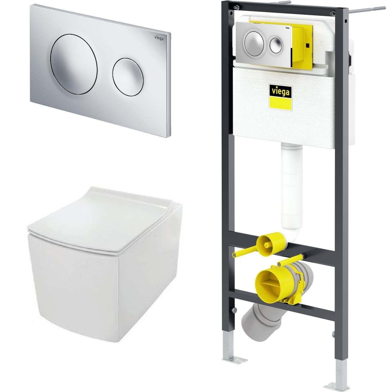 купить VIEGA Prevista Dry 792855-Kubix  (490x360мм)