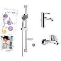 A49153EXP VITRA Minimax Комплект смесителей с душем